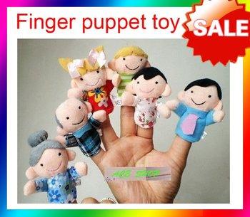 Free shipping--- Cartoon Animal Finger Puppet,Finger toy,finger doll,baby dolls