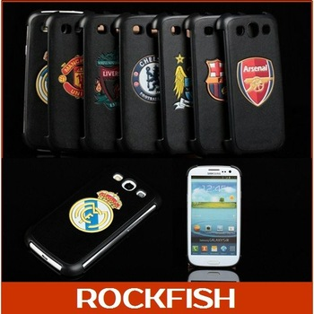 Sam sun i9300 GALAXY SIII S3 I9300 style stand shell protective Cover Case European soccer club Badge,UEFA CHAMPIONS LEAGUE