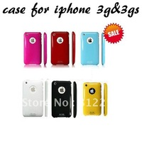 Ultra-thin SGP case for iphone 3g 3gs,High glossy hard back cover for iphone 3g 3gs