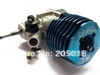 RC RACING SH 28 SH-28 4.57cc nitro Engine For RC 1/8 Car Buggy Blue for RC 1/8 Car