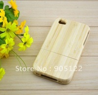 Case For iphone 4s ,2nd Generation Bamboo Case for iPhone 4G,Bamboo Case for iPhone 4/4g/4s ,Free shipping +Retail+Wholeasle