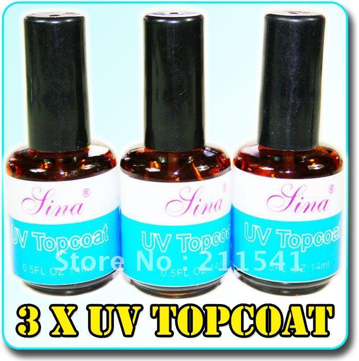 uv Top Coat Acrylic Nail