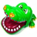 Free Shipping wholesale novelty items children gift,magic Crocodile Mouth Dentist Bite Game Toys Party Keychain