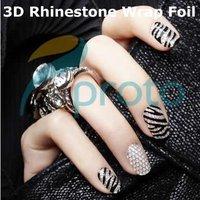 Стразы для ногтей freeship/10 x 3D Ultralarge SKU:D0190