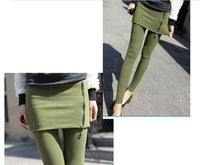 New arrived atutumn fashion zipper pants for women ZY072