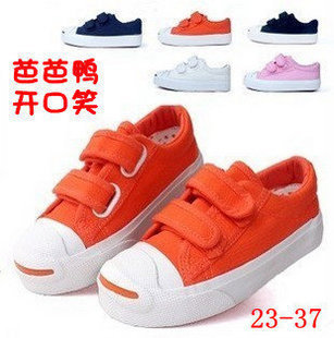 Bab duck children shoes female children shoes male child canvas shoes classic jack purcell style children shoes(China (Mainland))