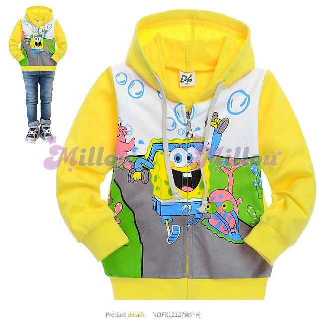 كل ما يخص سبونج بوب للاطفال Children-coat-Boy-ye