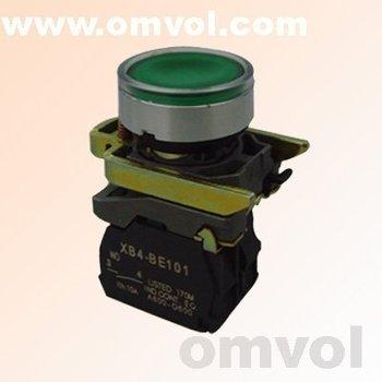 24V/220V LED illuminated pilot light push button switch