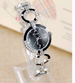 Korean blast wave hand graffiti fashion diamond the genuine kimio Jin Miou 423 simple watch Ms. section hand