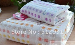 free shipping 70 * 140 Manufacturers selling 100 / % pure cotton towel(China (Mainland))