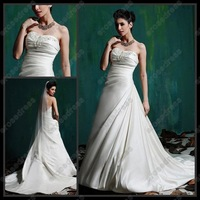 Свадебное платье MS-A065 New Style Court Train Satin Wedding Dress