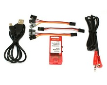 F01842 12 in 1 Wireless RC Simulator Cable USB,  RC 4.0/RealFlight G4/VRC/Reflex XTR/AeroFly/FMS,FUTABA JR TX +Freeship(China (Mainland))