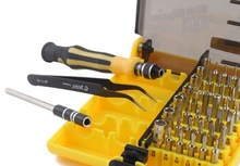 DHL Free Shipping 50 Pcs High quality 45 In 1 Electronic Tool Precision Screwdriver Set hand tool +tracking number