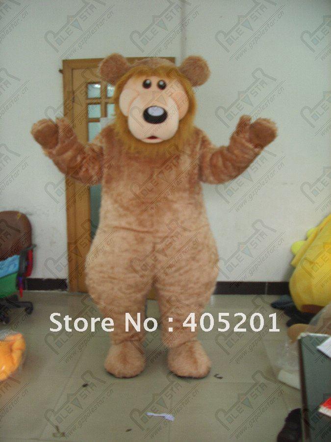 brown fur bear mascot costumes orangutan Gorilla costumes(China (Mainland))