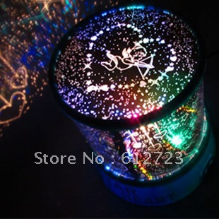 48 romantic projection lamp light sleep star projector(China (Mainland))