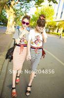 Free Shipping drop shipping skirts casual skirts striped skirts ladies skirts fashion skirts