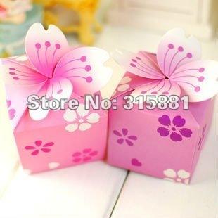 NEW Paper Wedding Candy Bift Box ,gift paper box
