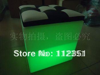 LED cube stool lighting stool for bar nightclub KTV disco wedding home decor