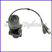 Mini Indoor Sharp CCD Security CCTV box Camera 3.5-8mm Mamual Lens
