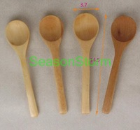 [EMS Free Shipping] Wholesale Natural Wooden Spoon For Baby or Childrren (SX-104E)