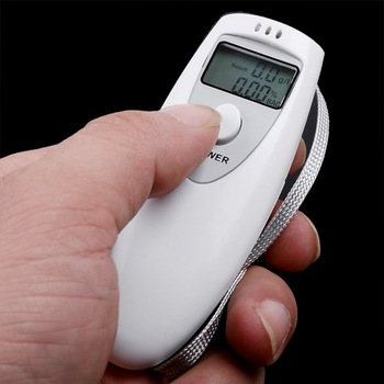 5pcs Digital Alcohol Breathalyzer Breath Tester Analyzer LCD free ship