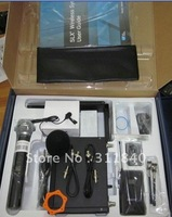 Free shipping UHF SLX24 Beta58 Professional handheld+ Lapel Set  Wireless microphone System