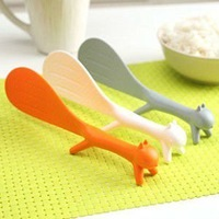 Free shipping 3pcs/lot Novelty items  Squirrel Rice Scoop