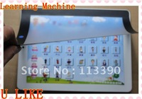 free shippment 100pcs  high quality  learning machine toy  with learning english kid english machine with Touch Screen