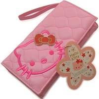 Hello Kitty wallet Hello Kitty leather wallet / two-fold