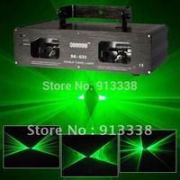2 Lens 100mW Green Laser Light DJ Party Club Stage Disco Lazer Lighting