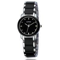 NEW MODEL!DHL/EMS free shipping!KIMIO watch brand Quartz wrist Women ladies ceramic watch 3 colours 40pcs/lot K455L
