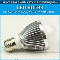 5pcs/lot 3w LED Bulbs AC85-265V Warm White/Cool White led lamps lights bulb Free shipping