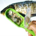 Free shipping!creative ichthyosis scratch with lid ichthyosis planing fish-scale device,,novelty kitchen seafood tool,3pcs/lot