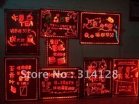Colorful led fluorescent advertising board(40*60CM) with remote control