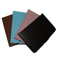 "Colorful Folio Leather Case For 7"" Sanei N77 Elite A13 N70 N71 N72 N73 Tablet Free Shipping"