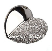 MOQ 1pc FREE shipping full capacity  jewelry USB flash drive memory  4GB/8GB/16GB