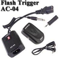 100-230V 4 Channel Wireless Flash Trigger Transmitter + Receiver For Studio