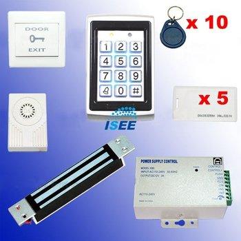 Christmas   RFID Access Control DIY Full Kit Set - Electric Magnetic Lock 180kg NC Fail Safe