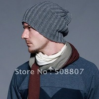 Wholesale - hot new fashion gorro con borla knitted hat  winter hat toboggan cap free shipping 12-1