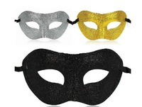 Free shipping -  glitter spray Venice mask, three color, mask for Masquerade, Halloween , christmas props