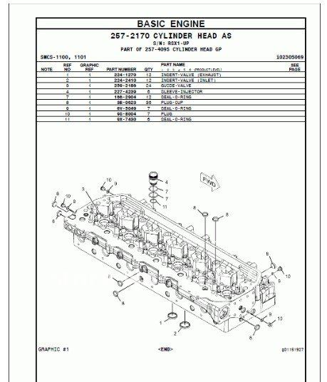 Caterpillar 966H Wheel Loader Parts Manual(Hong Kong)