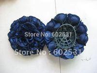 30cm royal blue plastic inner with wedding kissing ball