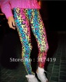 2012 new Fashion Colorful Leopard Grain Woemn Leggings,Sexy Women Tights Tattoo Pants dress,Free Shipping