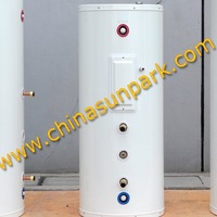 Double Coil HE+sea freight free+500L solar water heater tank