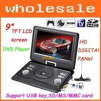 DVD, VCD - проигрыватели VISD 9.8 TFT LCD Srceen DVD /usb Dropshipping DA-791