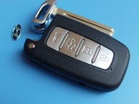 Hyundai 4 buttons remote key shell,remote control