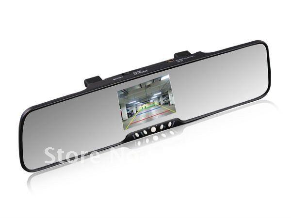 "3.5"" TFT Bluetooth rearview mirror wireless backup camera+2speakers+FM Transmitter+phonebook(China (Mainland))"