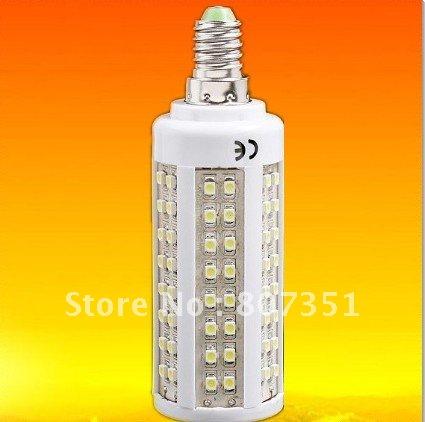 10x FREE SHIPPING LED Corn Light Bulb E14 140leds 3528 Epistar 220-240v High quality, stable performance(China (Mainland))