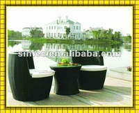 wicker rattan bistro set SCAC-004