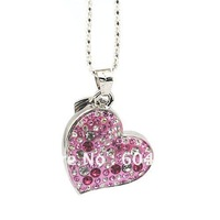 Heart shape Jewelry USB memory stick 2GB/4GB/8GB/16GB/32GB